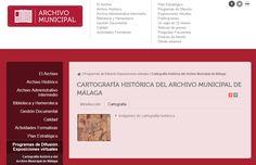 cartografía histórica del Archivo Municipal de Málaga