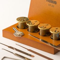 Lock Picking School in a Box! For years, we've said that the easiest way to learn the art of locksmithing is to begin by removing a few pin sets from a lock, and one by one, add them back as your picking skills improve. Now, we're pleased to offer our