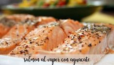 Salmon al vapor con aguacate con thermomix We would like to introduce you t… How To Make Dough, Food To Make, Baby Food Recipes, Cooking Recipes, Healthy Recipes, Fermented Bread, A Food, Food And Drink, Kneading Dough