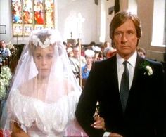 Coronation Street: Ken Barlow gives his daughter Susan away to his arch enemy, Mike Baldwin.