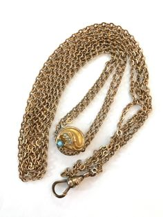 Perle de rocaille victorien glisser montre par AntiqueJewelryForFun