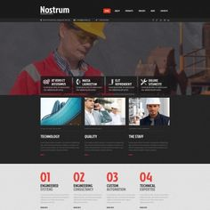 Moto CMS HTML Theme for Construction Company Website
