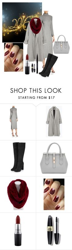 In the grey area by dey22 on Polyvore featuring French Connection, Zara, Topshop, Essie, MAC Cosmetics, Urban Decay, Max Factor, women's clothing, women's fashion and women