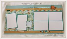 Scrapbooking Kits: Blossom 6 Page Scrapbook Kit - SOLD OUT