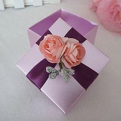 Purple Square Favor Box (Set of 12) – USD $ 9.99