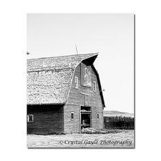 Barn Photography Canadian Landscape Print by CrystalGaylePhoto