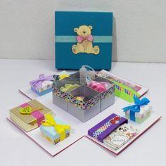 Cajas scrapbook - Plantillas de cajas Toy Chest, Storage Chest, Origami, Coasters, Diy, Baby Shower, Design, Mixed Media, Home Decor