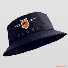 Leonard Floyd© Official Logo Bucket Hat #hat Leonard Floyd, Black Bucket Hat, Chicago Bears, Buckets, Cali, Baseball Hats, Logos, Dress, Fashion
