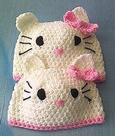 Crafty Stuff Hats and Photo Props... Made in South Africa: Hello Kitty!