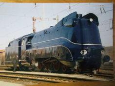 Eisenbahn Ansichtskarte Dampflokomotive Baureihe 01 1102 Bahnhof Bebra