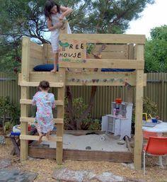 La cabane planches de bois - Momes.net