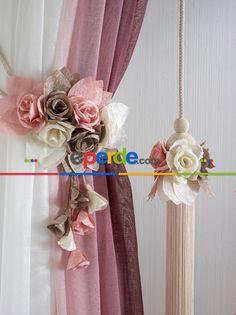 Çiçek Braçol Fon Bağı - Çok Renkli