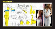 ModelistA: REVEILLON 2015 /Nº 02 - JUMP SUIT