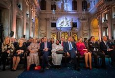4 December 2019 - Dutch Royals attend Prince Claus Award Ceremony at Amsterdam Royal Palace Dutch Royalty, December 4, Queen Maxima, Royal Palace, Hollywood Fashion, Netherlands, Awards, Windsor, Royals