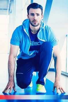 """""""one year of chris evans """" ↪ day 34: for fila, 2016"""