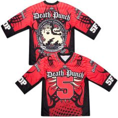 Five Finger Death Punch Red Jersey