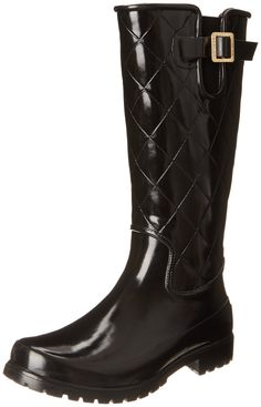 Sperry Top-Sider Women's Pelican Black Quilted Rain Boot -- Wow! I love this. Check it out now! : Boots