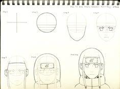 Naruto a lápiz -Anime:-)