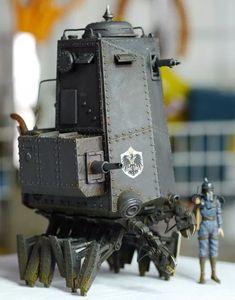 Shop | Machination Studio | Home of Codename Colossus Panzer Ii, Garage Kits, Home Studio, Dieselpunk, Alternate History, Model Kits, Futuristic, Robot, Shopping