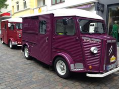 Citroen Type H, Citroen H Van, Vintage Recipes, Vintage Food, Vintage Items, Garage, Coffee Truck, Classic Cars, Vans