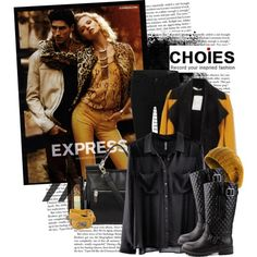 """""""Choies: Mustard Yellow"""" by channchann on Polyvore"""