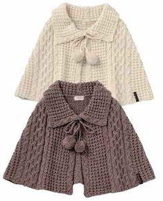 Resultado de imagem para poncho em crochet