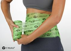 Plastic wrap got you all tangled up? Try Fab Wrap instead! This breathable, hypoallergenic foam wrap fits over the Wrap, flush to your skin for best results! #WrapRemoveReboot