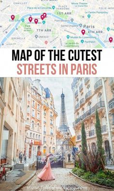 10 Of The Most Charming Streets In Paris + Map To Find Them These are the top charming streets in Paris you must see! These secret Paris streets are off-the-beaten-path and we include a map to help you find them! Paris France Travel, Paris Travel Guide, Paris Map, France Map, Travel Europe, Travel Destinations, Maui Travel, Summer Travel, Overseas Travel