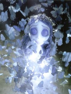 Tim Burton's Corpse Bride-Butterfly Transformation: a beautiful scene
