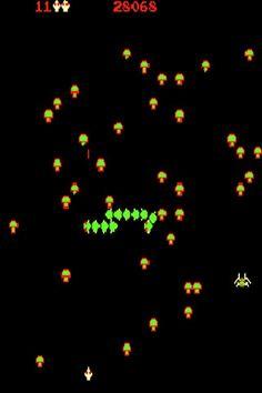 80s Arcade Game - Centipede