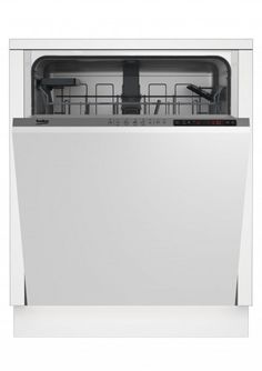 Zmywarka do zabudowy Beko DIN25410 ( szer. 59,8cm ; Panel zamknięty ; kolor biały ) Kitchen Refrigerator, Small Kitchen Appliances, Home Appliances, Tiny Kitchens, Small Dishwasher, Stainless Steel Tanks, Hard Water Stains, Installation Manual, Buy Kitchen