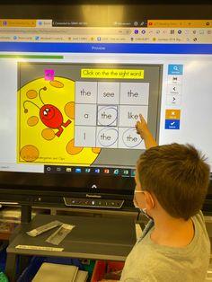 Google Classroom For Students, Kindergarten Teachers, Elementary Teacher, Kindergarten Activities, Elementary Schools, Sight Word Worksheets, Sight Word Games, Sight Word Activities, Learning Sight Words