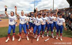 The Gators are looking become the third program in NCAA Softball history to win back-to-back national titles (also: Arizona, UCLA), and the first since Arizona accomplished the feat in 2006-07.