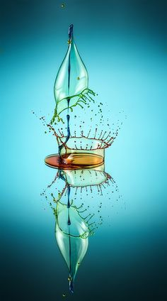 Sculpture of Liquid by Markus Reugels Water Drop Photography, High Speed Photography, Splash Photography, Color Photography, Macro Photography, Creative Photography, Amazing Photography, Splash Fotografia, Fotografia Macro