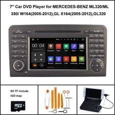 Awesome Mercedes: 319.2$  Buy here - Android 5.1 CAR DVD Player for MERCEDES-BENZ ML320/ML 350/ W1...  ❚Best 2017 Ali things☼ Check more at http://24car.top/2017/2017/08/24/mercedes-319-2-buy-here-android-5-1-car-dvd-player-for-mercedes-benz-ml320ml-350-w1-%e2%9d%9abest-2017-ali-things%e2%98%bc/
