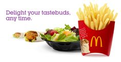 Snacks & Sides Whether you need a little pick-me-up to get you through the afternoon or a companion for your favorite sandwich. Mcdonalds Coupons, Snack Recipes, Snacks, Pick Me Up, French Fries, Celery, Cabbage, Sandwiches, Meals