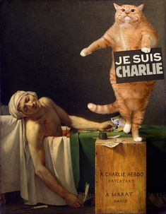 Jacques-Louis David, Don't shoot the cartoonist! — Great Artists' Mews