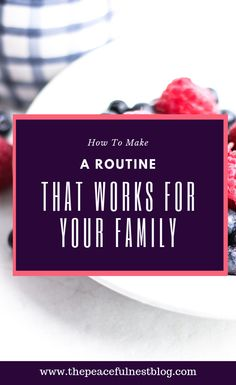 How to Make A Routine That Works For Your Family - The Peaceful Nest Parenting Advice, Kids And Parenting, Opening A Daycare, Spring Cleaning List, Routine Printable, Family Schedule, Peaceful Parenting, Gentle Parenting, Create A Family