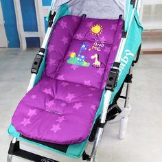 Algodón alargado cojín del cochecito de bebé de dibujos animados pad cochecito de bebé del coche asiento cojín de algodón gruesa estera 0-36 meses de gama alta de encargo
