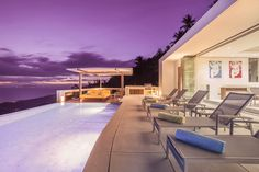 Koh Samui Holiday Villa #kohsamui #samui #thailand #asianluxuryvillas _____________________ Perched high in the hills above Koh Samuis quaint port at Nathon this ultra-luxurious villa offers breathtaking panoramic views of the twinkling seas and offshore islands