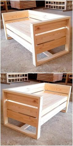 The last 50 wood recycling pallet furniture projects # Wood furniture .- Die letzten 50 Holzrecycling-Palettenmöbelprojekte The last 50 wood recycling pallet furniture projects # Wood Furniture - Recycled Pallet Furniture, Pallet Furniture Designs, Diy Outdoor Furniture, Furniture Ideas, Rustic Furniture, 50 Diy Furniture Projects, Furniture Market, Furniture Movers, Pipe Furniture