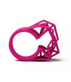 #wow - Solitaire Ring von nitz & schieck in #pink