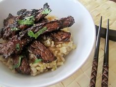 DIY Takeout: Spicy Crispy Beef - The Fit Cook - Healthy Recipes - Skinny Recipes