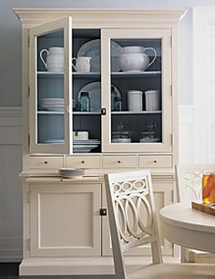 Martha Stewart Signature Collection By Bernhardt Off White Hutch 2 Pc 88