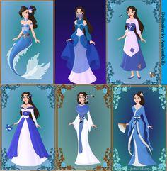 Azalea's Dolls deviantART | Leyandra - 6 Disney Themes (Maker by AzaleasDolls) by ratfratz