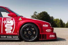 Alfa Romeo Gtv6, Alfa Romeo 155, Alfa Romeo Cars, Alfa Romeo Giulia, Top Sports Cars, Top Cars, Alfa Brera, Upcoming Cars, Vintage Race Car