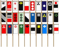 Image result for japanese battle flags