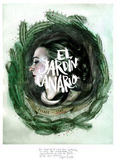 #ONTHEDRAW | Gran Canaria by Paula Bonet #Canary #Islands #illustration