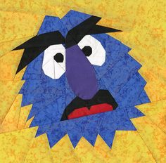 Herry Monster, a free pattern on Fandom In Stitches, designed by @Michelle Thompson! #sesamestreet