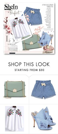 """""""Shein contest!"""" by maryam-nu ❤ liked on Polyvore featuring Jennifer Lopez, Tootsa MacGinty, WithChic, N°21 and By Terry"""